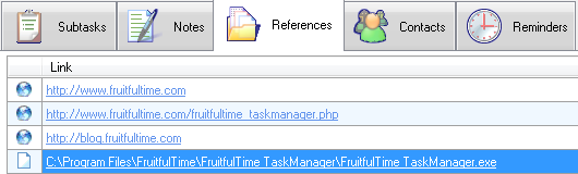 FruitfulTime Task Manager - References