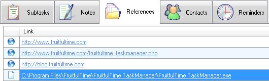 FruitfulTime Task Manager - References